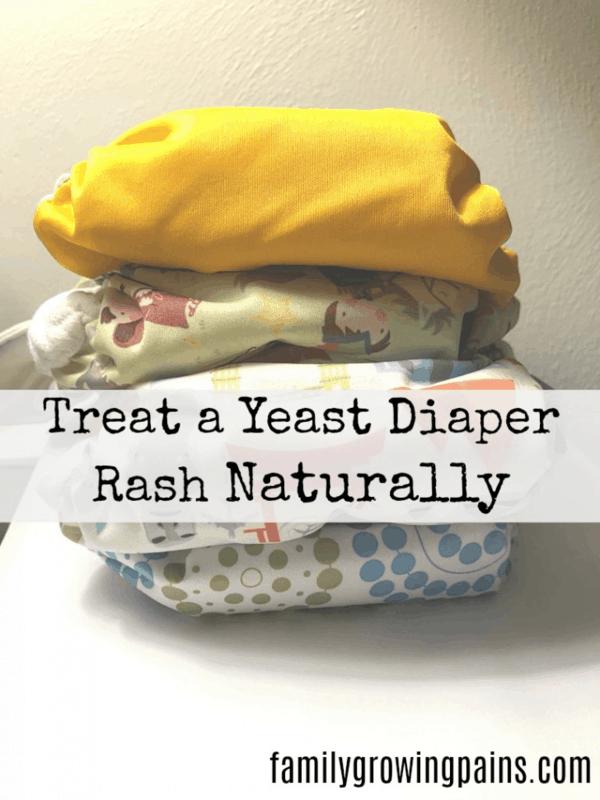 Naturally Treating a Yeast Diaper Rash