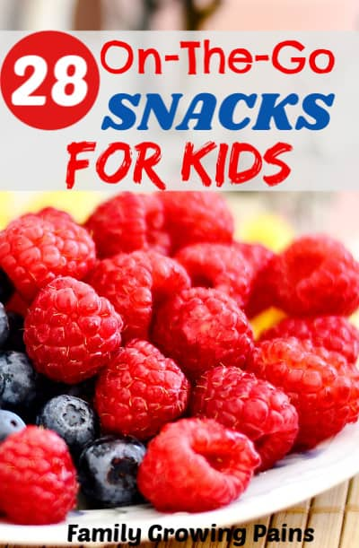 On-The-Go Snacks for Kids