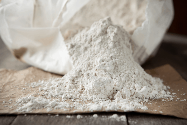 A Pile of Diatomaceous Earth