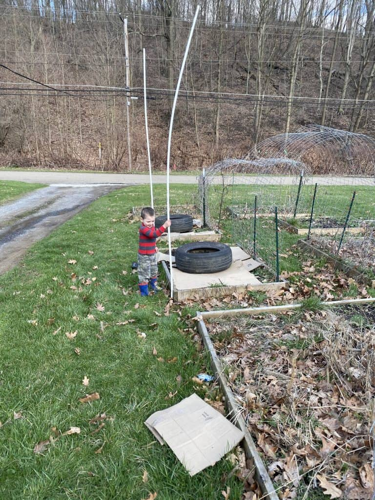 PVC Pipe for Hoop House