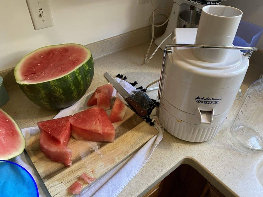 Juicing Watermelon